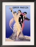 Grafin Mariza: A German Operetta Poster