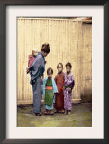 Woman with Children Posters by Felice Beato