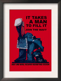 It Takes a Man to Fill It Prints by Charles Stafford Duncan