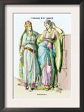 Jewish Noblewomen, First Century B.C. Prints by Richard Brown