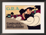 G.R.A.: Smokeless and Odorless Automobiles Posters by Hans Rudi Erdt