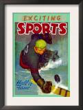 Hall of Fame Goalie Prints