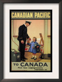 Canadian Pacific to Canada Posters