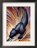 Stalking Panther Prints by Major Felton