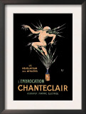 L'Embrocation Chanteclair Print by  Mich (Michel Liebeaux)