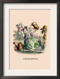 Pois de Senteur Posters by J.J. Grandville