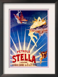 Petrole Stella Posters by Henri Gray