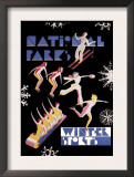 National Park&#39;s Winter Sports Posters by Dorothy Waugh