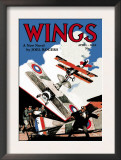 Wings Posters by Rudolph Belarski