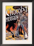 Masson: Chocolat Mexicain Art by Eugene Grasset
