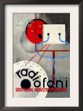 Radiofoni Udstilling Industribygningen Poster