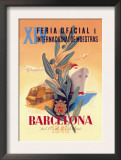 XIV Official International Model Fair in Barcelona Prints by Martinez Bigorda