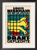 Louis Hermann in Dresden Posters by Dore Corty