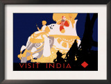 Visit India Prints