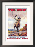 The Whip: The Wonderful Drury Lane Drama Posters by Albert Morrow