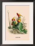 Capucine Art by J.J. Grandville