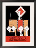 Charles Prelle's Animal Circus Prints