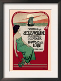 Poster for an Ibsen Play Prints by Edmund Edel