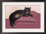 Exposition des Artistes Animaliers Prints by Théophile Alexandre Steinlen
