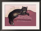 Exposition des Artistes Animaliers Prints by Théophile Alexandre Steinlen