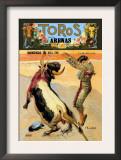 Barcelona: Toros En las Arenas Prints by A. Gual