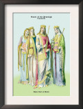Ruler Carl of Grode and the Court of the Francigh Posters by Richard Brown