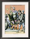 Carolingian King, 8th Century B.C. Posters by Richard Brown