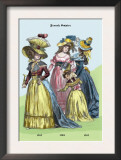 French Empire Dresses, 18th Century Prints by Richard Brown