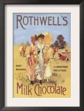 Rothwell's Milk Chocolate Posters