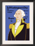 In Washington's Day Posters by Howard Pyle