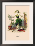 Vigne Prints by J.J. Grandville