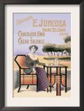 E. Juncosa Chocolate and Cocoa Print