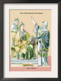 Carolingian Queen, 8th Century Art by Richard Brown