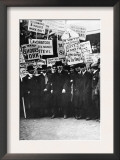 Clothing Workers Strike Posters