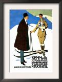 Kemm Cic Ala Ville de Neuchatel Poster
