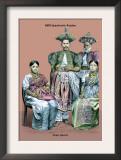 Royal Family of Ceylon, 19th Century Prints by Richard Brown