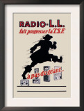 Radio, L.L.: Running Man Print