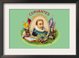 Cervantes Cigars Art