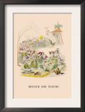 Retour des Fleurs Posters by J.J. Grandville