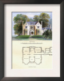 Tudor Suburban Residence Art by Richard Brown