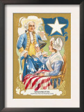 Washington Adopting a Five Pointed Star Posters