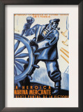 The Heroic Merchant Navy Posters by  Puyol