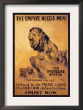 The Empire Needs Men Posters by K. Wardle