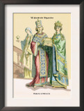 Emperor and Princess of Byzantine, 8th Century Posters by Richard Brown