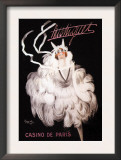 Mistinguett: Casino de Paris Art by Charles Gesmar