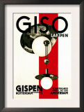 Giso Lamps Art by Wilhelm H. Gispen