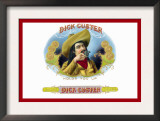 Dick Custer Cigars, Holds You Up Posters