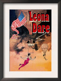 Leona Dare Prints by Jules Chéret
