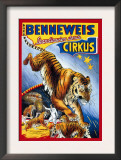 Benneweis Circus Prints by Oscar Knudsen