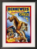 Benneweis Circus Prints by Oscar Knudsen